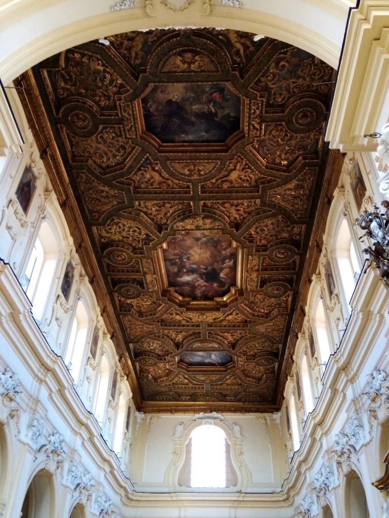Soffitto ligneo della chiesa di san Mauro a Casoria
