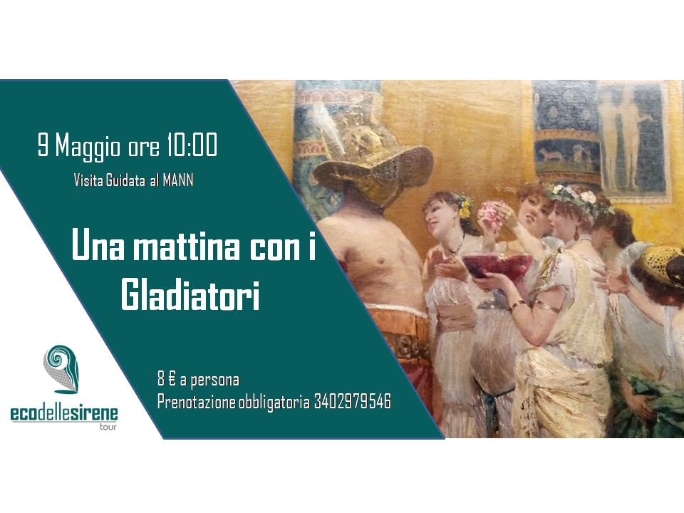 locandina evento sui gladiatori