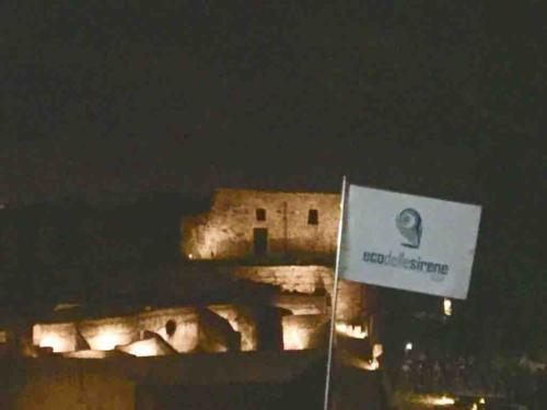 visita guidata pompei di notte