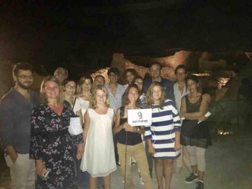 visita pompei di notte